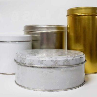 Envases y cajas de hojalata
