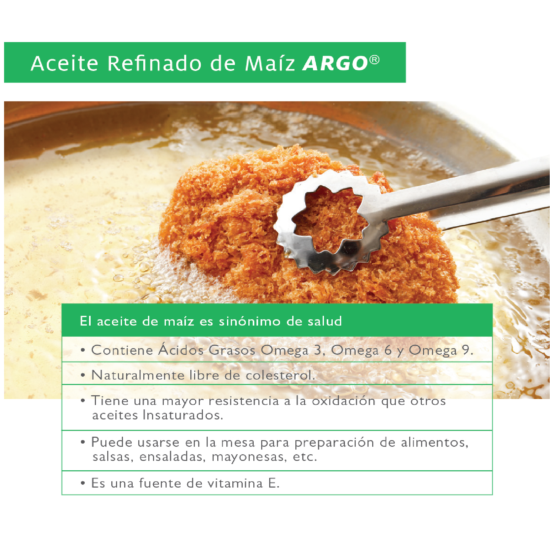 ACEITE DE MAÍZ REFINADO ARGO