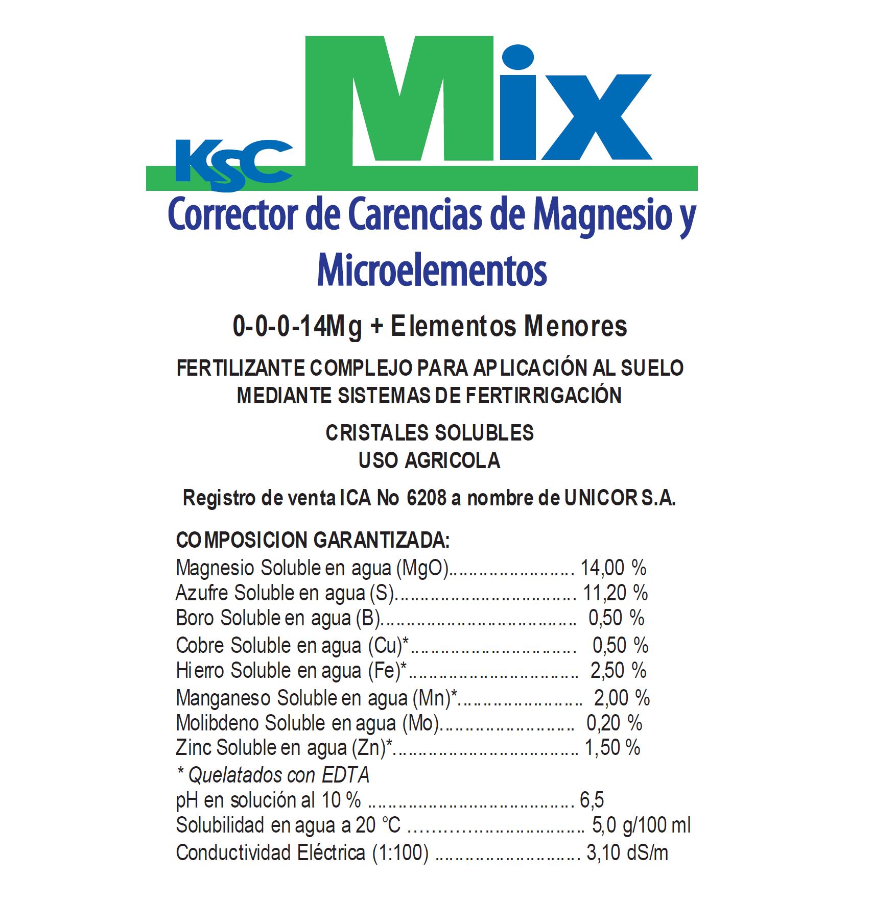 KSC PHYT ACTYL MIX X 1 kg