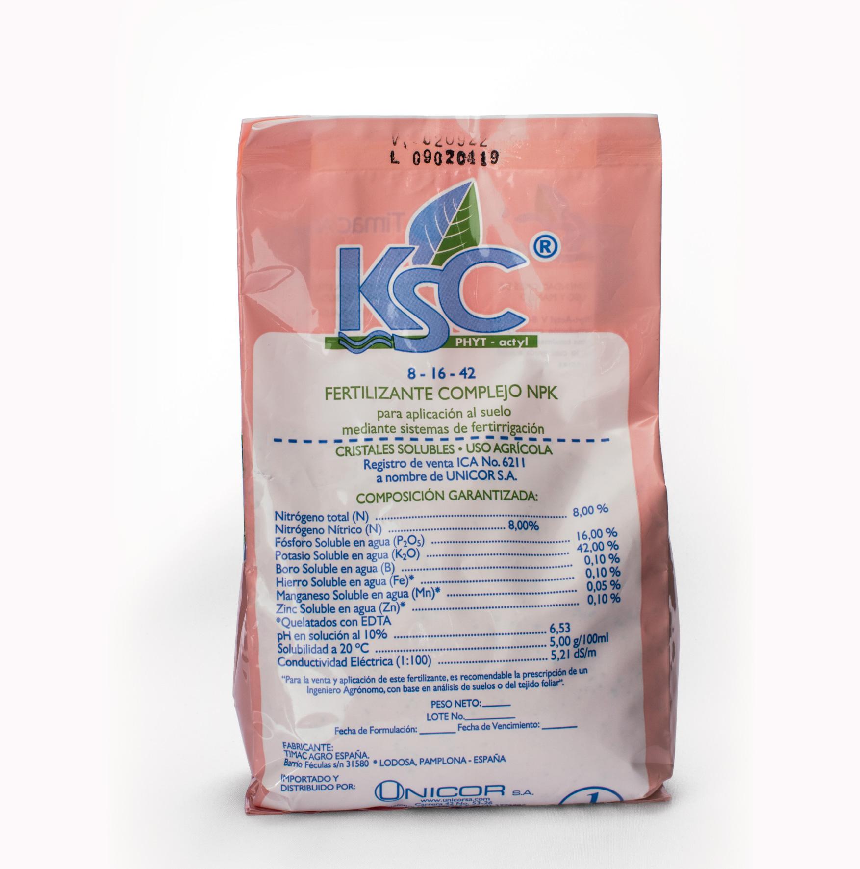 KSC PHYT ACTYL V LILA X 1 Kg