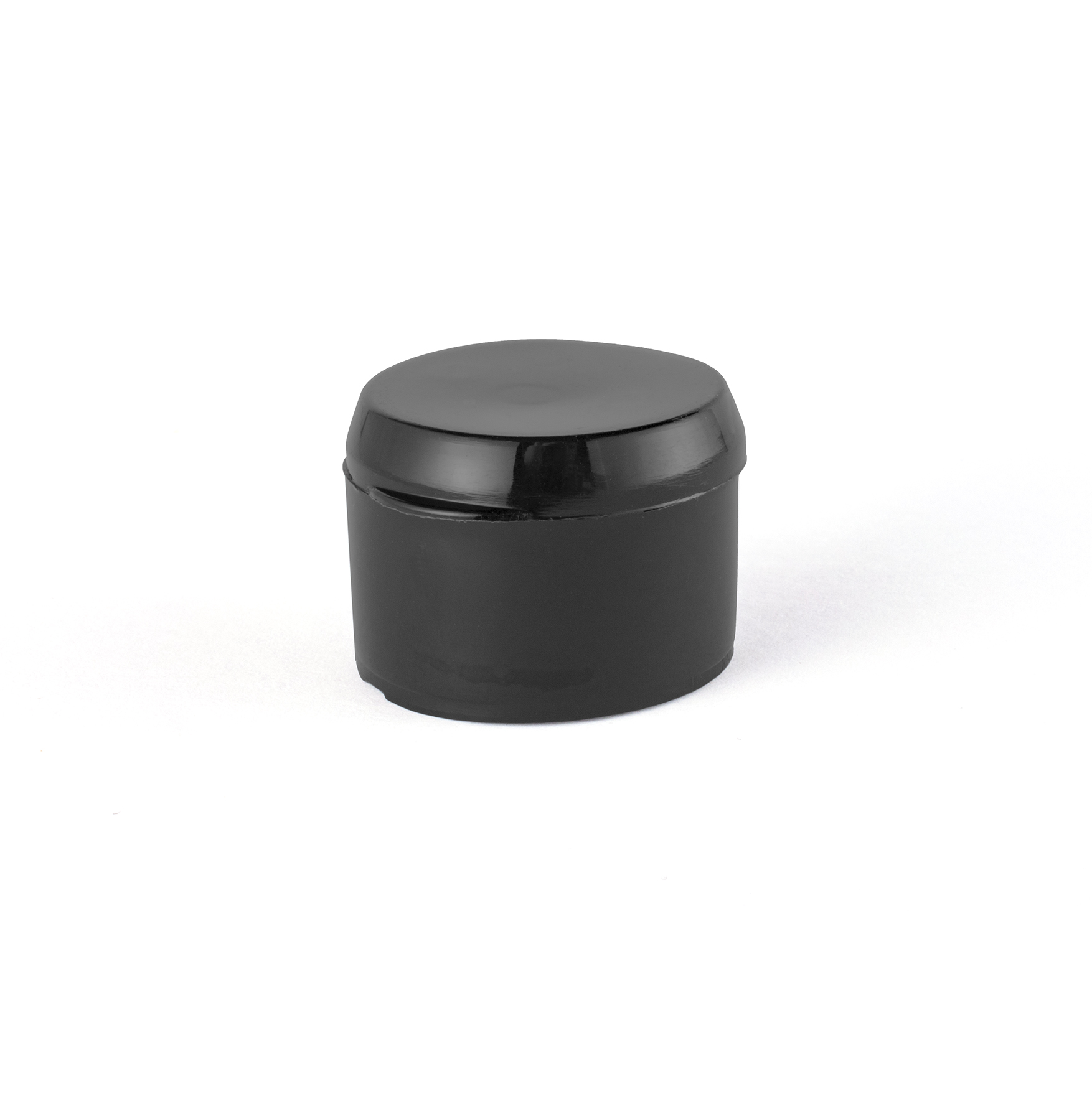 TAPA PLASTICA 24 mm FLIP TOP NEGRA